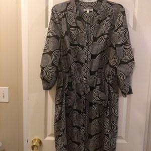 2/$30 Women's Spense Black/White Dress Size 14